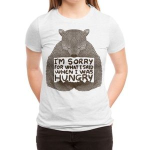 Sorry for what I said t shirt